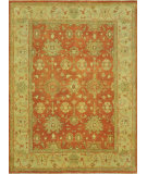 RugStudio presents Loloi Vernon Vn-05 Auburn / Gold Hand-Knotted, Good Quality Area Rug