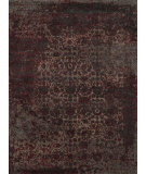 RugStudio presents Loloi Viera VR-05 Charcoal / Red Machine Woven, Best Quality Area Rug