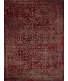 RugStudio presents Loloi Viera VR-05 Red / Taupe Machine Woven, Best Quality Area Rug