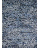 RugStudio presents Loloi Viera Viervr-06 Lt. Blue / Grey Machine Woven, Best Quality Area Rug