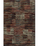 RugStudio presents Loloi Vista VT-03 Rust / Multi Machine Woven, Good Quality Area Rug