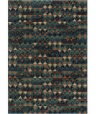 RugStudio presents Loloi Vista VT-05 Blue / Multi Machine Woven, Good Quality Area Rug