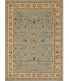 RugStudio presents Rugstudio Sample Sale 37938R Blue-Ivory Machine Woven, Better Quality Area Rug