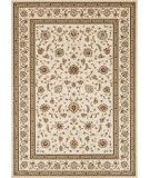 RugStudio presents Rugstudio Sample Sale 37939R Ivory-Ivory Machine Woven, Better Quality Area Rug
