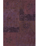 RugStudio presents Loloi Xela Xa-06 Wine Hand-Hooked Area Rug