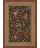 RugStudio presents Loloi Zamora Zm-02 Brown Hand-Hooked Area Rug