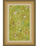 RugStudio presents Loloi Zamora Zm-02 Lime Machine Woven, Good Quality Area Rug