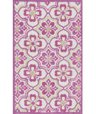 RugStudio presents Loloi Zoey Zo-01 Purple - Green Machine Woven, Good Quality Area Rug