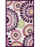 RugStudio presents Loloi Zoey Zo-06 Purple - Multi Machine Woven, Good Quality Area Rug