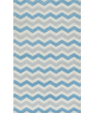 RugStudio presents Loloi Zoey Zo-07 Blue Machine Woven, Good Quality Area Rug