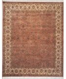 RugStudio presents Lotfy and Sons Vintage 133b Copper/Beige Hand-Knotted, Best Quality Area Rug