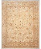RugStudio presents Lotfy and Sons Nuance 871 Beige/Light Green Hand-Knotted, Best Quality Area Rug