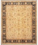 RugStudio presents Lotfy and Sons Nuance 872 Light Gold/Black Hand-Knotted, Best Quality Area Rug