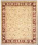 RugStudio presents Lotfy and Sons Nuance 872 Light Gold/Red Hand-Knotted, Best Quality Area Rug