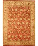 RugStudio presents Lotfy and Sons Nuance 871 Rust/Light Gold Hand-Knotted, Best Quality Area Rug