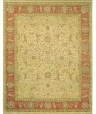 RugStudio presents Lotfy and Sons Nuance 872 Light Gold/Rust Hand-Knotted, Best Quality Area Rug