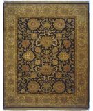 RugStudio presents Lotfy and Sons Majestic Hs-17 Black/Gold Hand-Knotted, Best Quality Area Rug