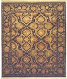 RugStudio presents Lotfy and Sons Majestic Hs-22 Black/Black Hand-Knotted, Best Quality Area Rug
