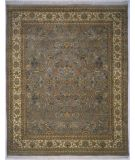 RugStudio presents Rugstudio Sample Sale 9605R Light Blue/Ivory Hand-Knotted, Best Quality Area Rug