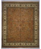 RugStudio presents Lotfy and Sons Narmada 320 Light Rose/Ivory Hand-Knotted, Best Quality Area Rug