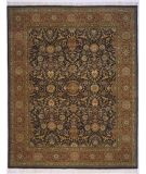 RugStudio presents Lotfy and Sons Prestige Kashan Dark Blue/Rust Hand-Knotted, Best Quality Area Rug