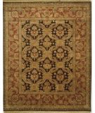 RugStudio presents Lotfy and Sons Majestic Lsn-13 Black/Burgundy Hand-Knotted, Best Quality Area Rug