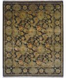 RugStudio presents Lotfy and Sons Majestic Scc-1 Black/Black Hand-Knotted, Best Quality Area Rug