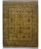 RugStudio presents Lotfy and Sons Majestic Vk-134 Gold/Camel Hand-Knotted, Best Quality Area Rug