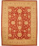 RugStudio presents Lotfy and Sons Mahal 209 Red/Ivory Hand-Knotted, Best Quality Area Rug