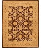 RugStudio presents Lotfy and Sons Mahal 212 Brown/Beige Hand-Knotted, Best Quality Area Rug