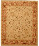 RugStudio presents Lotfy and Sons Mahal 213 Beige/Rust Hand-Knotted, Best Quality Area Rug