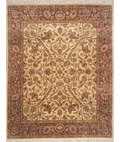 RugStudio presents Lotfy and Sons Majestic 203 Gold/Rose Hand-Knotted, Best Quality Area Rug
