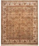 RugStudio presents Lotfy and Sons Majestic 205 Light Green/Ivory Hand-Knotted, Best Quality Area Rug