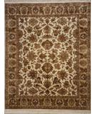 RugStudio presents Lotfy and Sons Majestic S-17 Cream/Gold Hand-Knotted, Best Quality Area Rug
