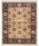 RugStudio presents Lotfy and Sons Majestic 920 Gold/Black Hand-Knotted, Best Quality Area Rug