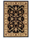 RugStudio presents LR Resources Adana LR80371 Black-Cream Machine Woven, Good Quality Area Rug