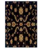 RugStudio presents LR Resources Adana LR80715 Black Machine Woven, Good Quality Area Rug