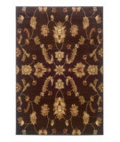 RugStudio presents LR Resources Adana LR80715 Brown Machine Woven, Good Quality Area Rug