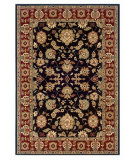 RugStudio presents LR Resources Adana LR80716 Black-Red Machine Woven, Good Quality Area Rug