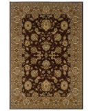 RugStudio presents LR Resources Adana LR80716 Brown-Gold Machine Woven, Good Quality Area Rug