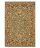 RugStudio presents LR Resources Adana LR80716 Green-Gold Machine Woven, Good Quality Area Rug