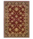 RugStudio presents LR Resources Adana LR80716 Red-Brown Machine Woven, Good Quality Area Rug
