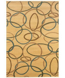 RugStudio presents LR Resources Adana LR80908 Cream Machine Woven, Good Quality Area Rug