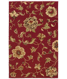 RugStudio presents LR Resources Dazzle LR54006 Red Hand-Hooked Area Rug
