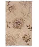 RugStudio presents LR Resources Fashion LR20542 Beige Hand-Tufted, Good Quality Area Rug