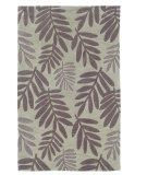 RugStudio presents LR Resources Fashion LR20807 Light Green Hand-Tufted, Good Quality Area Rug