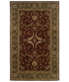 RugStudio presents LR Resources Heritage LR10104 Rust-Medium Green Hand-Tufted, Best Quality Area Rug