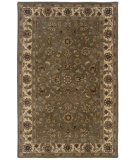 RugStudio presents LR Resources Heritage LR10108 Green-Ivory Hand-Tufted, Best Quality Area Rug