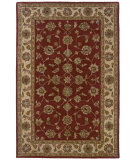 RugStudio presents LR Resources Heritage LR10116 Red-Ivory Hand-Tufted, Best Quality Area Rug