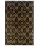 RugStudio presents LR Resources Majestic LR9303 Charcoal Hand-Tufted, Good Quality Area Rug